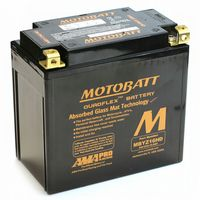 MBYZ16HD Motobatt AGM Motorcycle Battery 12v 16Ah 240CCA (YTX14-BS, YTX14H-BS, YTX14L-BS) Buy Online from The Battery Shop